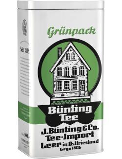 Bünting Grünpack Tee in der Nostalgiedose  (500 g) - 4008837201139