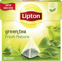 Lipton Green Tea Fresh Nature Pyramidenbeutel  (28 g) - 8712100776199