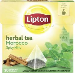 Lipton Herbal Tea Morocco Spicy Mint Pyramidenbeutel  (40 g) - 8712100770746