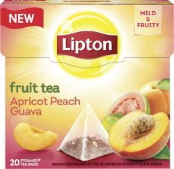 Lipton Fruit Tea Apricot Peach Guava Pyramidenbeutel  (38 g) - 8712100775055