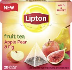 Lipton Fruit Tea Apple Pear & Fig Pyramidenbeutel  (38 g) - 8712100775383