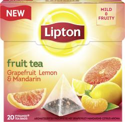 Lipton Fruit Tea Grapefruit Lemon & Mandarin Pyramidenbeutel  (38 g) - 8712100775574
