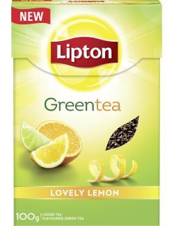 Lipton Green Tea Lovely Lemon  (100 g) - 8712100775260