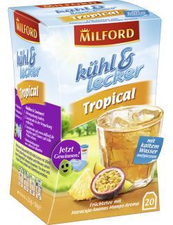 Milford k�hl & lecker Tropical  (20 x 2,50 g) - 4002221028159