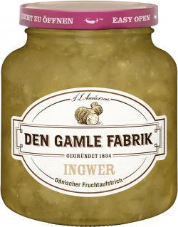 Den Gamle Fabrik Ingwer Fruchtaufstrich  (380 g) - 5701211012343