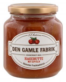 Den Gamle Fabrik Hagebutte mit �pfeln Fruchtaufstrich  (380 g) - 5701211012374