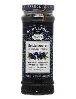 St. Dalfour Fruchtaufstrich Heidelbeeren  (284 g) - 3388600000314