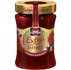 Schwartau Extra des Jahres Erdbeer-Rhabarber  (340 g) - 4011800099015