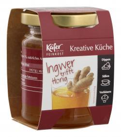 Käfer Ingwer in Akazienhonig  (150 g) - 4028700083518