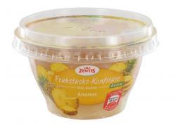 Zentis Frühstücks-Konfitüre die Echte Extra Ananas  (200 g) - 4002575327397
