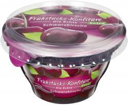 Zentis Fr�hst�cks-Konfit�re die Echte Extra Schwarzkirsche  (200 g) - 4002575327632