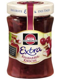 Schwartau Extra Rhabarber-Kirsche  (340 g) - 4011800147310