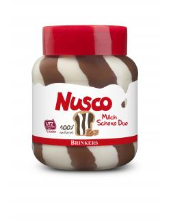 Nusco Milch & Nuss-Nougat Duo  (400 g) - 8710573341555
