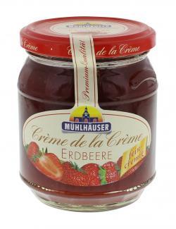 M�hlh�user Fruchtaufstrich Cr�me de la Cr�me Erdbeere  (340 g) - 4026701000718
