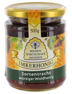 Bienenwirtschaft Meissen w�rziger Waldhonig  (500 g) - 4028712300351