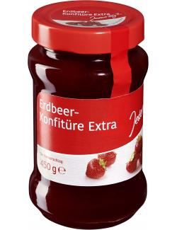 Jeden Tag Konfitüre extra Erdbeere  (450 g) - 4306188336600