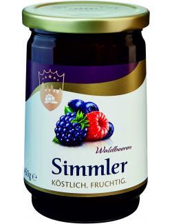 Simmler Waldbeeren-Konfitüre extra  (450 g) - 4008191020100
