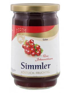 Simmler Rotes Johannisbeer-Gelee extra  (450 g) - 4008191026102