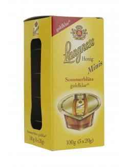 Langnese Honig Sommerblüte goldklar Minis  (5 x 20 g) - 4023300937704