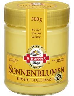 Bihophar Sonnenblumenhonig  (500 g) - 4055500012240