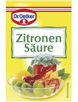 Dr. Oetker Zitronens�ure  (25 g) - 4000521701215