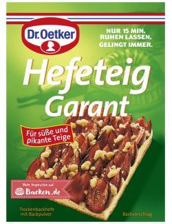 Dr. Oetker Hefeteig Garant  - 4000521117009