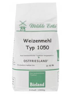 M�hle Erks Bioland Weizenmehl Type 1050  (1 kg) - 4038269001342