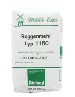 M�hle Erks Bioland Roggenmehl Typ 1150  (1 kg) - 4038269001045