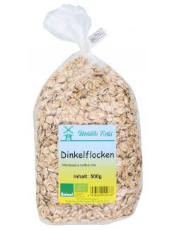 Mühle Erks Bioland Dinkelflocken  (500 g) - 4038269002738