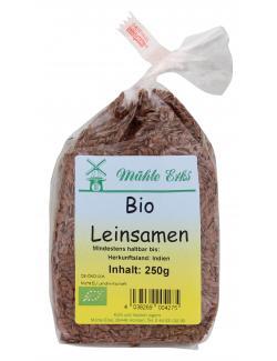 M�hle Erks Bio Leinsamen  (250 g) - 4038269004275