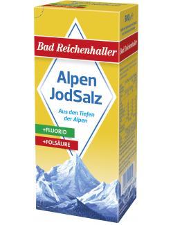 Bad Reichenhaller Jodsalz mit Fluorid + Fols�ure  (500 g) - 4001475105609