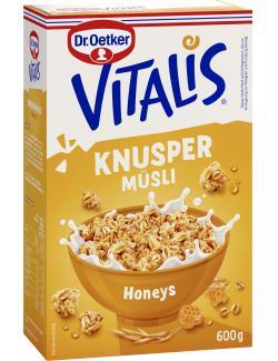 Dr. Oetker Vitalis Knusper Honeys Müsli  (600 g) - 4000521661304