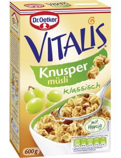 Dr. Oetker Vitalis Knusper M�sli mit Honig  (600 g) - 4000521661205