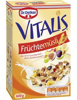 Dr. Oetker Vitalis Fr�chte M�sli  (600 g) - 4000521661007