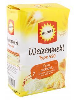 Aurora Weizenmehl Type 550  (1 kg) - 4000406072355