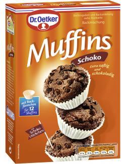 Dr. Oetker Schoko Muffins  (335 g) - 4000521891404