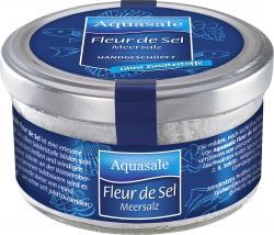 Aquasale Meersalz Fleur De Sel  (125 g) - 4001475214509