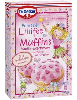 Dr. Oetker Prinzessin Lillifee Muffins Vanille  (397 g) - 4000521500207