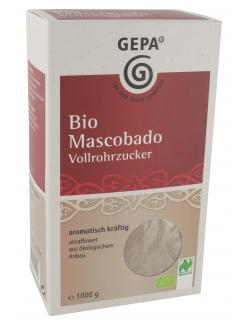 Gepa Bio Mascobado Vollrohrzucker  (1 kg) - 4013320055052