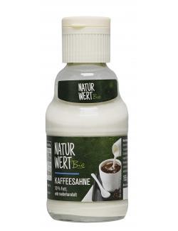 NaturWert Bio Kaffeesahne 10%  (165 g) - 4008230201446