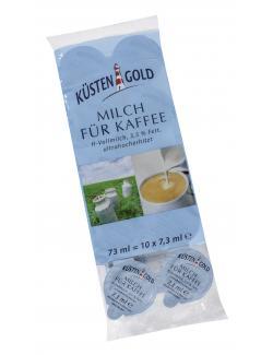 Küstengold Milch für Kaffee 3,5%  (10 x 7,30 ml) - 4027300320368
