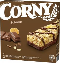 Corny M�sli Riegel Schoko  (6 x 25 g) - 4011800521219