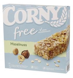 Corny Müsli Riegel Free Haselnuss  (6 x 20 g) - 4011800572211