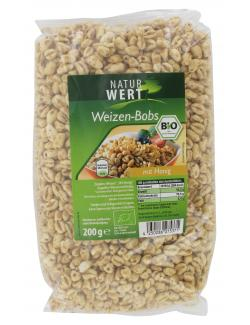 NaturWert Bio Weizen-Bobs mit 30% Honig  (200 g) - 4250286275371