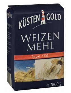 Küstengold Weizenmehl Type 550  (1 kg) - 4250426200096