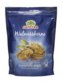 Suntree Kalifornische Walnuss-Kerne  (200 g) - 4009012112004