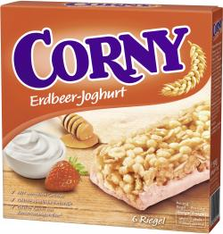 Corny Müsli Riegel Erdbeer-Joghurt  (6 x 25 g) - 4011800524210