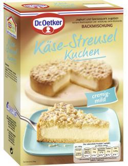 Dr. Oetker Käse-Streusel Kuchen  (730 g) - 4000521005856