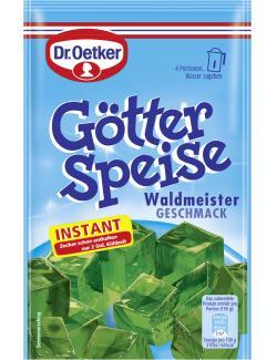 Dr. Oetker Götterspeise Instant Waldmeister Geschmack  (100 g) - 4000521003173