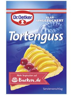 Dr. Oetker Tortenguss klar  - 4000521160418